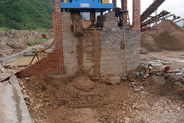 打桩或盾构泥浆提沙