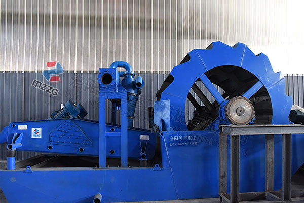 时产150吨洗沙脱水一体机发往安徽淮北