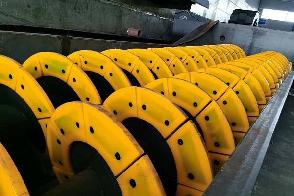 时产150吨—200吨螺旋洗砂一体机发往宁夏