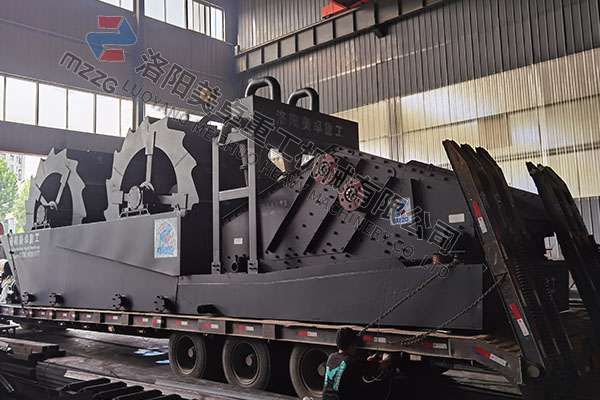 时产200吨洗砂污水零排放设备发往安徽合肥