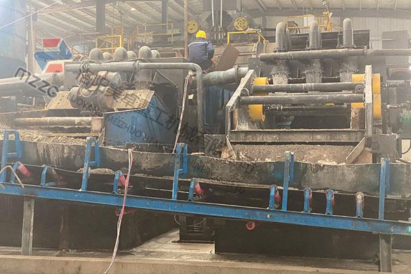 垃圾焚烧处理洗砂机生产视频(河南新郑)